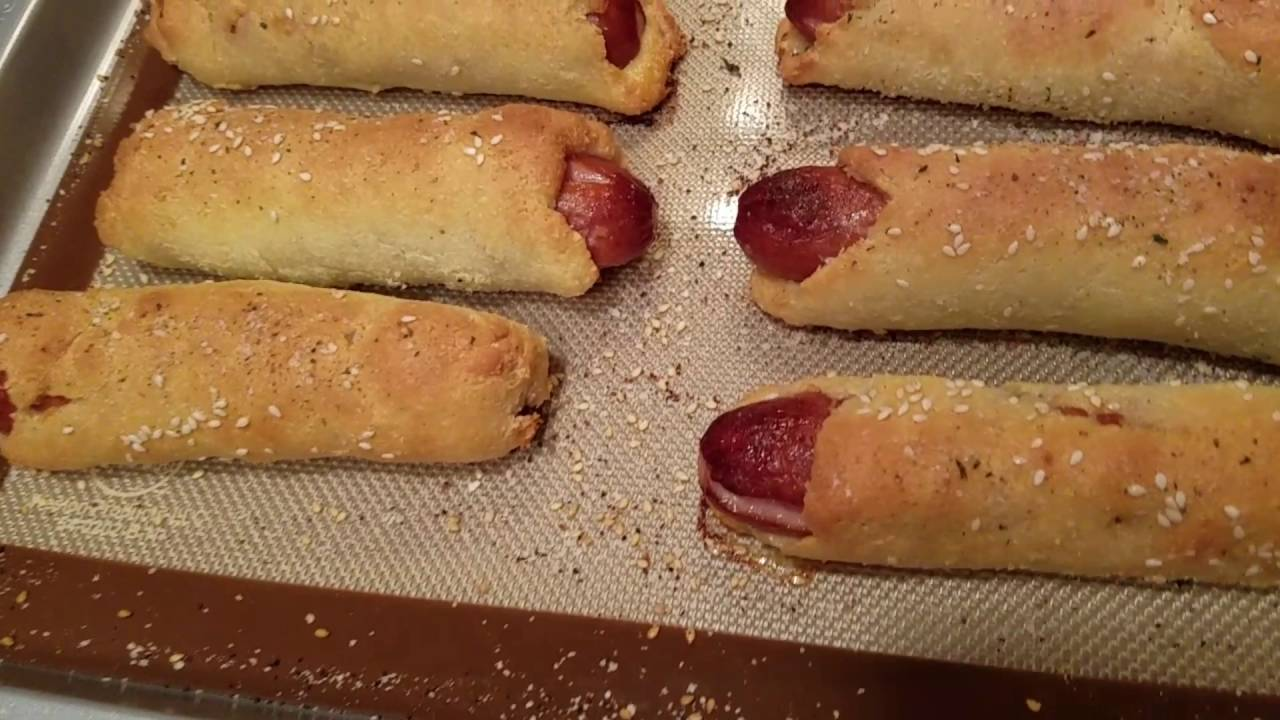 Keto Hot Dog Buns