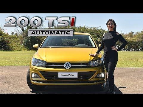 VW POLO 2018 200 TSI TURBO Highline em Detalhes