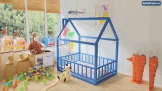 Детская кровать домик из массива дерева.(, 2017-03-17T06:02:29.000Z)