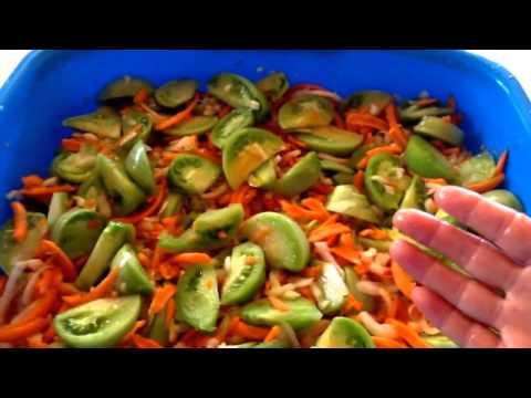 Салат из зеленых
