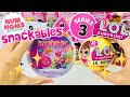 lol surprise lil sisters series 3 eat amp color change in num noms snackables cereal l o l dolls toy