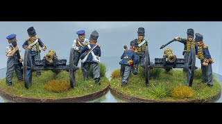 Perry Miniatures British Royal Foot Artillery and painting update
