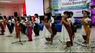 Nyanyian TKK 3 Penabur Cipinang Jakarta (Disini Ada Yang Kubawa Tuhan/ Dison Adong Huboan Tuhan)