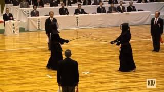 12th All Japan Invitation 8-dan Taikai — Final