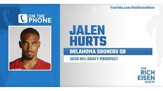 Jalen Hurts Talks NFL Draft, Nick Saban & More with Rich Eisen | Full Interview | 3/30/20