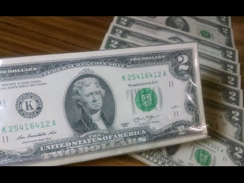 2 Dollar Bills & Sequential Bills - My First Time
