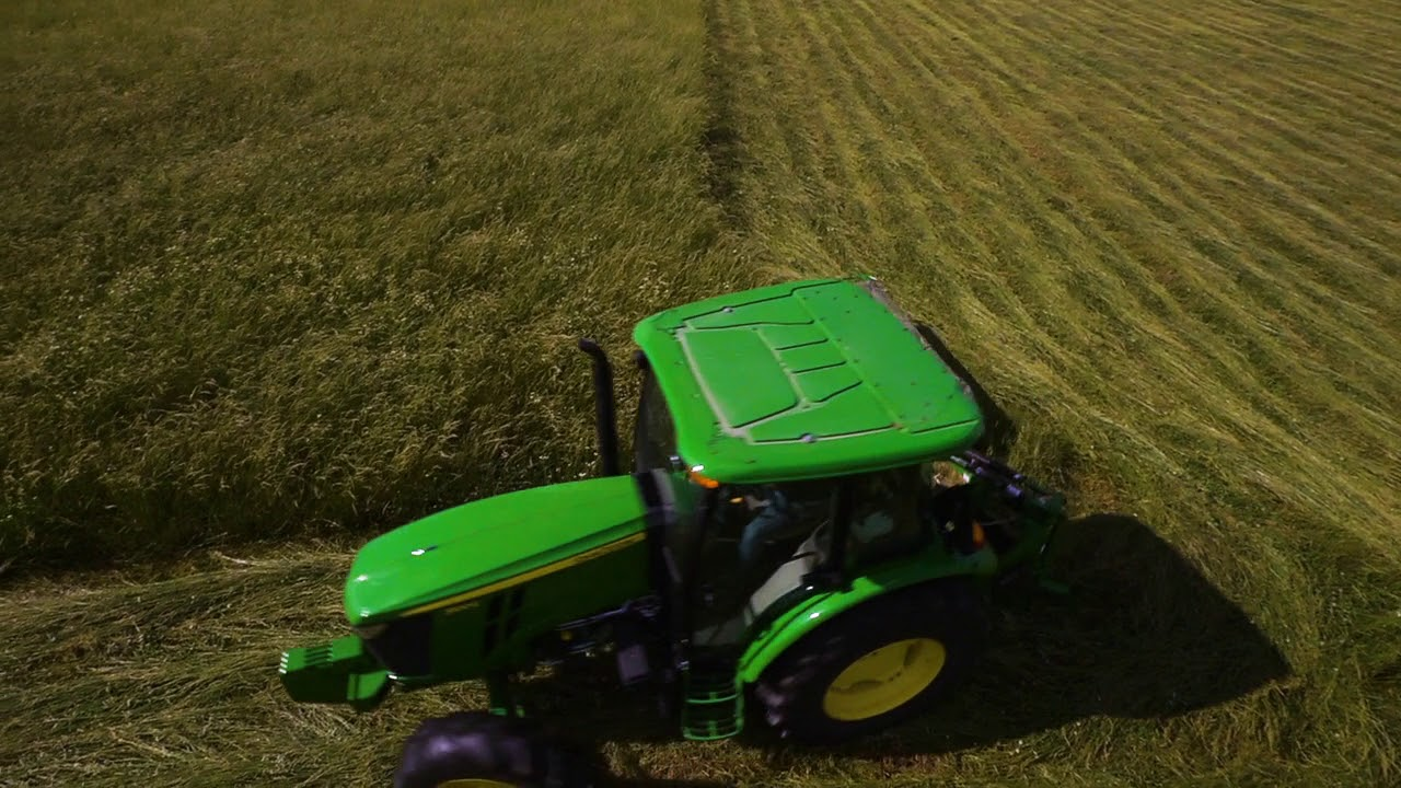 Maintain the cutter bar on disc mower