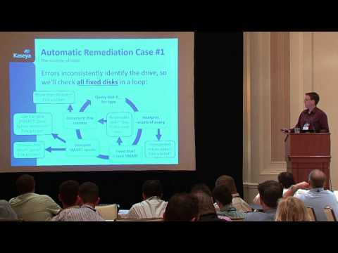 Kaseya Connect 2013 - Automatic Remediation and Superfluous Ticket Elimination