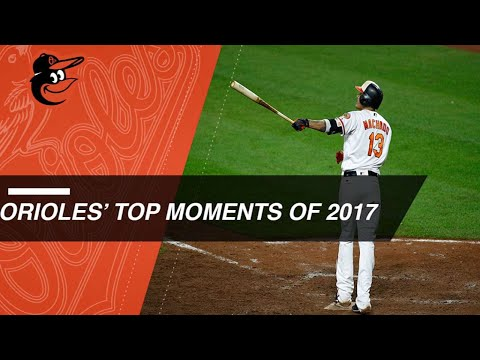 A look back at the Orioles' top moments of 2017