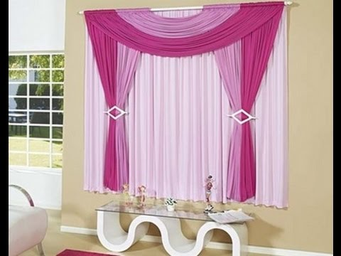 Como hacer cortinas de tela youtube for Como hacer cortinas de salon
