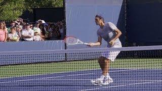 Roger Federer Volley - 2013 Cincinnati Open