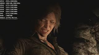 Shadow of the Tomb Raider On AMD Radeon 520 / R5 M430 / R5 M330 2GB. Gameplay Benchmark