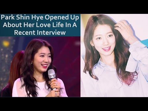 Park Shin Hye Opened Up About Her Love Life In A Recent Interview