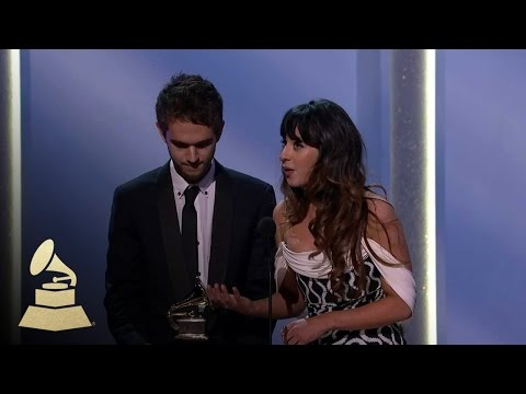 Zedd and Foxes Wins Best Dance Recording | GRAMMYs