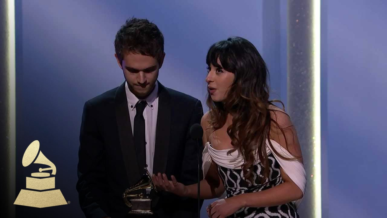 Zedd and Foxes Wins Best Dance Recording | GRAMMYs - YouTube  Zedd and Foxes ...