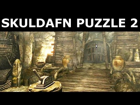 "Skyrim - Skuldafn Temple Stone Puzzle 2 - ""The World-Eater's Eyrie"" Quest"