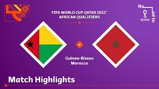 Гвинея-Бисау  0-3  Марокко видео