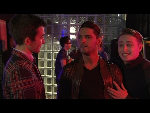 Hollyoaks February 11th 2014 (Ziggy tries to cheer up George)