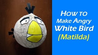 How to make angry White Bird (Matilda) from angry birds