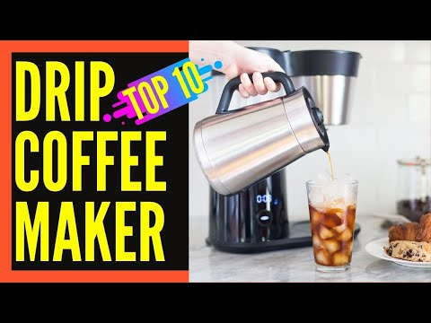 Top 10 Best Drip Coffee Maker Reviews || Best Drip Coffee Machine