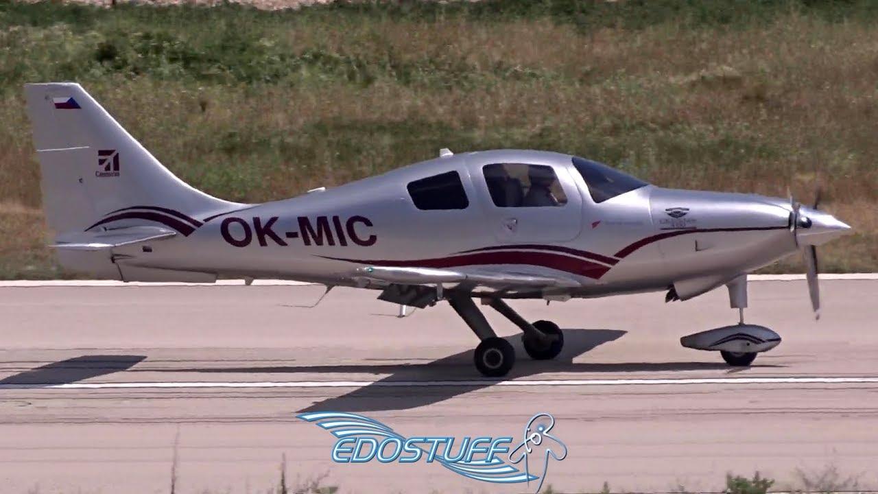Cessna 400 Corvalis TT OK-MIC - Brač Airport LDSB/BWK Tower View ...