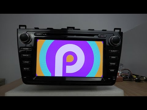 Belsee Unboxing Review Mazda 6 2008 2009 2010 2011 2012 Android 9.0 Auto Head Unit Screen DSP Ram 4G