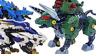 Zoids Wild ZW26 Cannon Bull VS mechanic dinosaur! | DuDuPopTOY