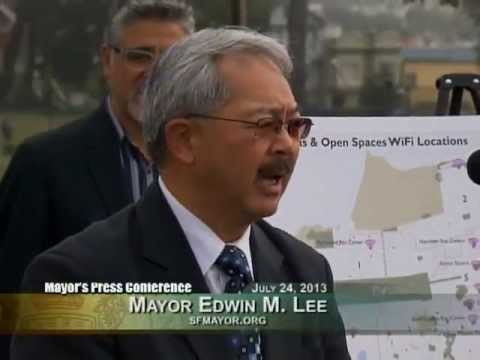 Supervisor Mark Farrell & Mayor Lee Announce Free WiFi Across San Francisco's Parks