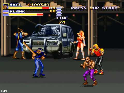 Streets of Rage Remake v5 - Rescue Metro City(Classic ...