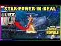 Download STREAMER DOES THE NEW STAR POWER IN REAL LIFE!!! - Fortnite highlights #222