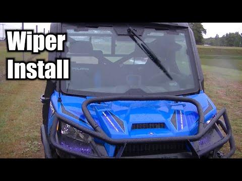 Polaris Ranger 900 | Pro Fit Windshield Wiper Install