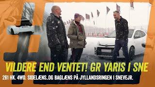 Breems. Breeems. Toyota GR Yaris skaber panik! 3 cylindre, 261 heste og firehjulstræk i snevejr.