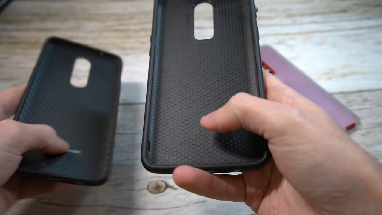 watch 47bb4 ff4d6 RhinoShield SolidSuit Carbon OnePlus 6 Case Unboxing and Review