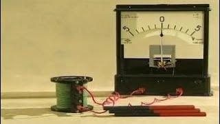 Опыты по физике. Закон электромагнитной индукции