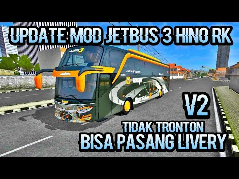 Share Mod Jetbus 3 By Wsp Tidak Tronton || Mod Bussid Gameplays #1