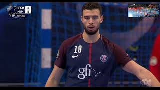 PARIS SAINT GERMAIN X NÎMES HANDBALL STARLIGUE 2017 18 JOURNÉE 18