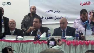 مصر العربية | نقيب الصيادلة: هناك محاولة للقضاء على رغبة نقابات المهن الطبية