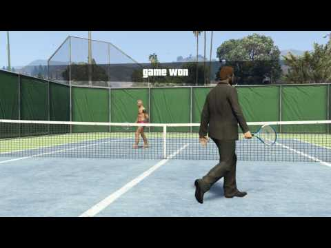 Grand Theft Auto V - Online Multiplayer - Tennis