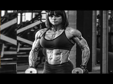 FEMALE BODYBUILDING) GYM WORKOUT MOTIVATION, FITNESS
