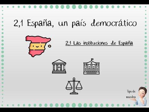 ciencias-sociales-primaria-//-españa,-un-país-democrático