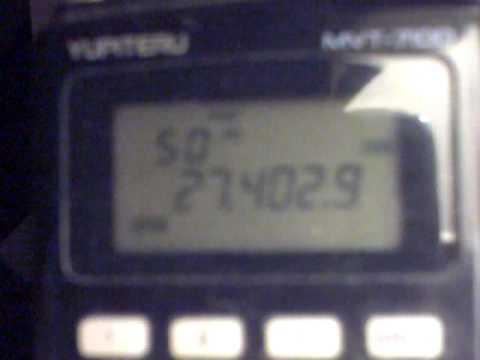 Yupiteru MVT 7100. CB And Amateur Radio Skip Heard From Irvine,Ayrshire,Scotland(27jun2011).