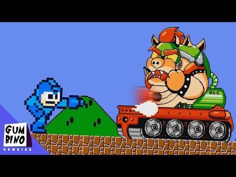What if Super Mario Bros was a Megaman Game