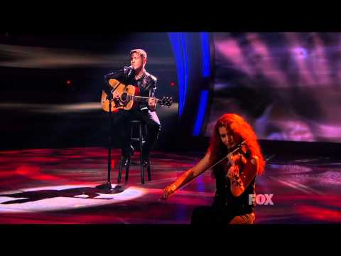 """true HD Scotty McCreery """"Where Were You (When the World Stopped Turning)"""" Top 4 American Idol 2011"""