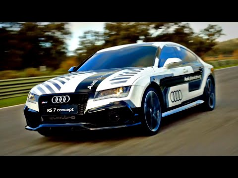 Racing The Audi RS7 Piloted Driving Concept - Fifth Gear