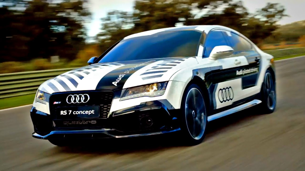 Racing The Audi Rs7 Piloted Driving Concept Fifth Gear