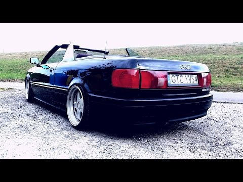 audi 80 cabrio air ride youtube. Black Bedroom Furniture Sets. Home Design Ideas