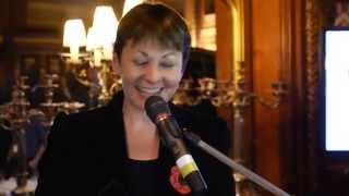Caroline Lucas MP - MP of the Year 2014