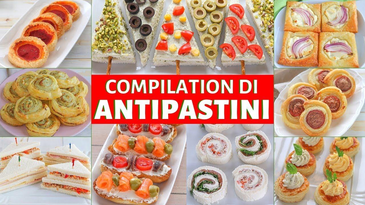 Antipasti Per Buffet Di Natale.Antipasti Per Le Feste Fatto In Casa Da Benedetta Rossi