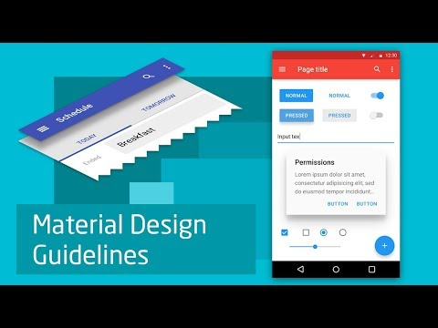 Material Design Guidelines Part-6 (in Hindi)