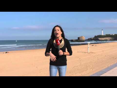 Conoce las playas de Biarritz en el sur de Francia 02-10-15